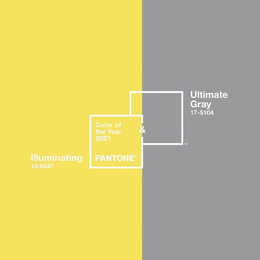Pantone barvi leta 2021